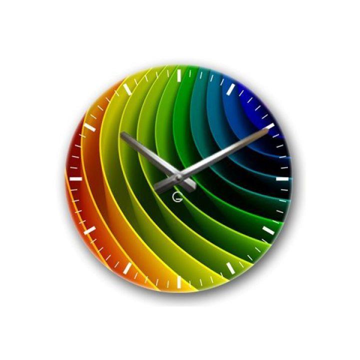 Настенные дизайнерские часы Glozis Spectrum