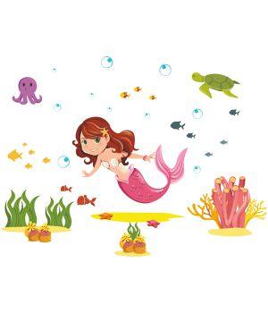 Виниловая Наклейка Mermaid