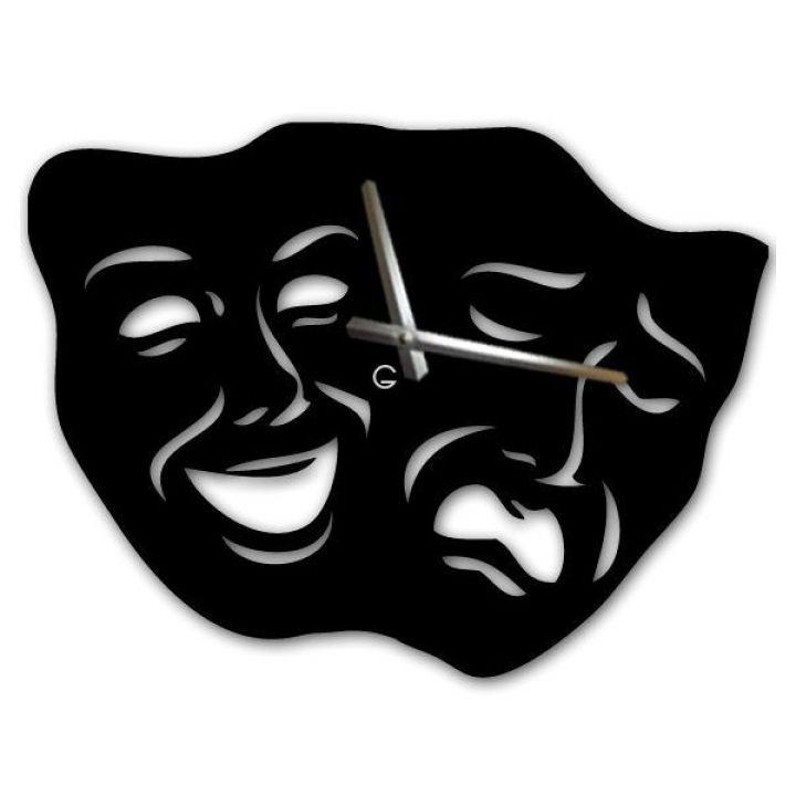 Настенные дизайнерские часы Glozis Masks