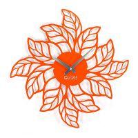 Настенные дизайнерские часы Glozis Leafs