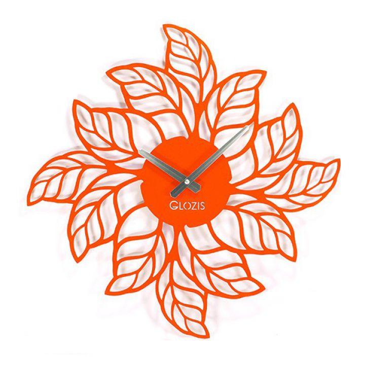 Дизайнерські годинники настінні Glozis Leafs