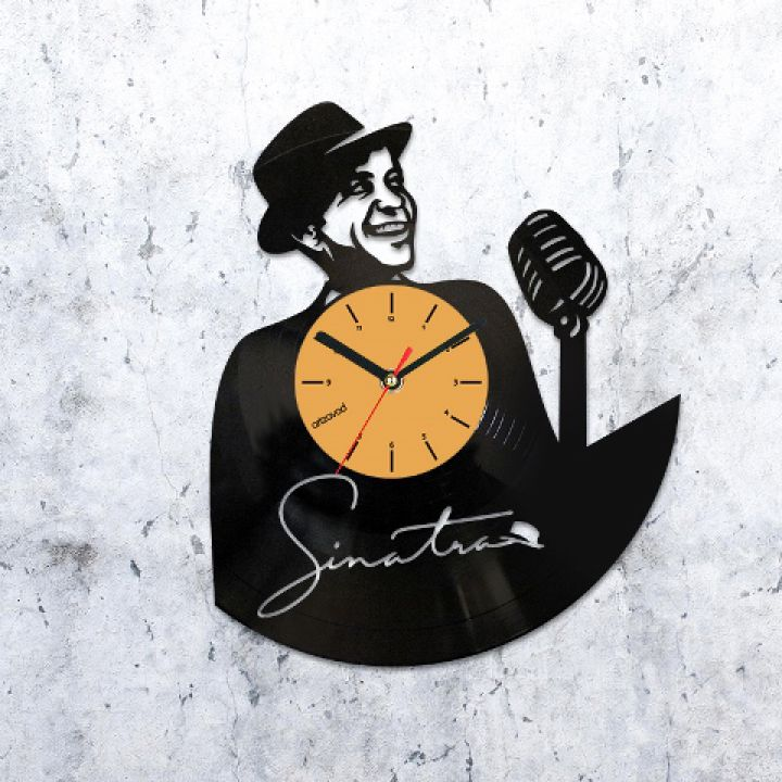 Виниловые часы Фрэнк Синатра