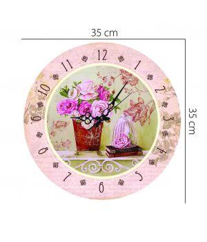 Акриловые часы 35 см х 35 см