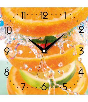 Часы настенные квадратные К 013