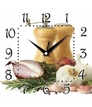 Часы настенные квадратные К 009