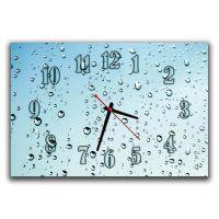 Настенные часы Капли, 30х45 см