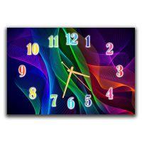 Настенные часы Разноцветная паутинка, 30х45 см