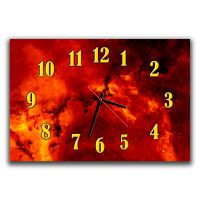 Настенные часы Космос, композиция 30х45 см