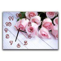 Настенные часы Мелодия роз, 30х45 см