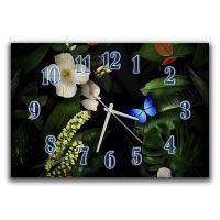 Настенные часы Зеленая сказка, 30х45 см