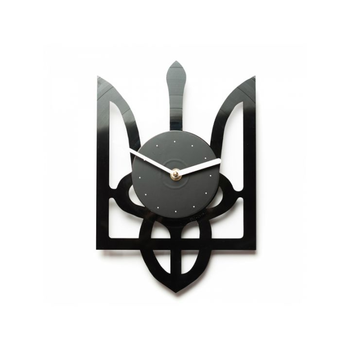Часы из винила Тризуб