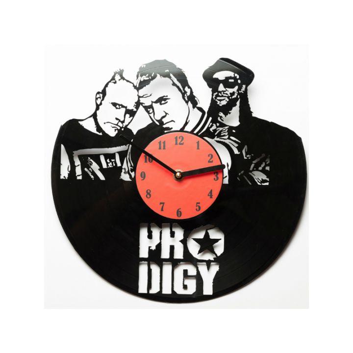 Виниловые часы на стену Prodigy