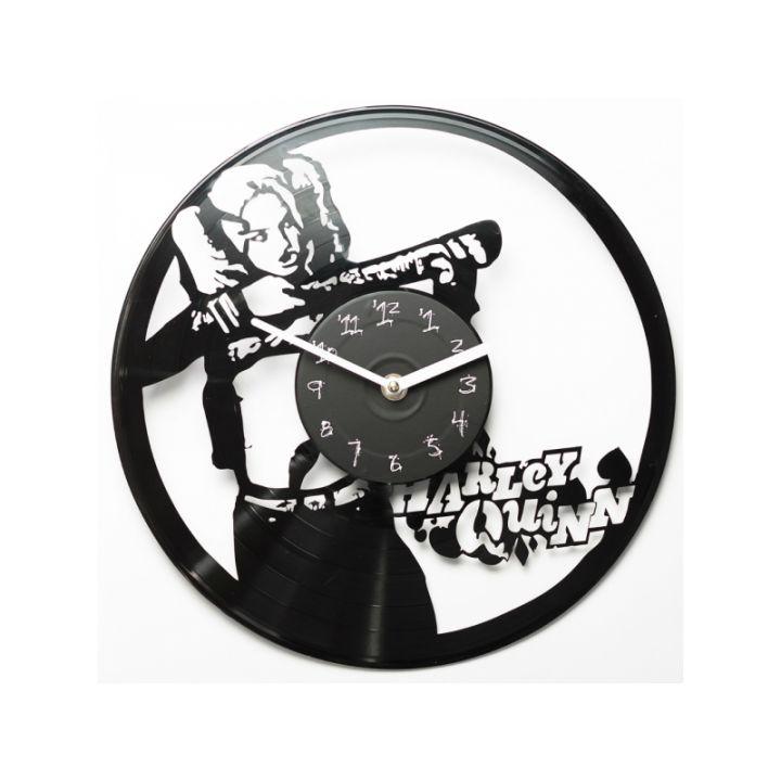 Часы из винила Harley Quinn
