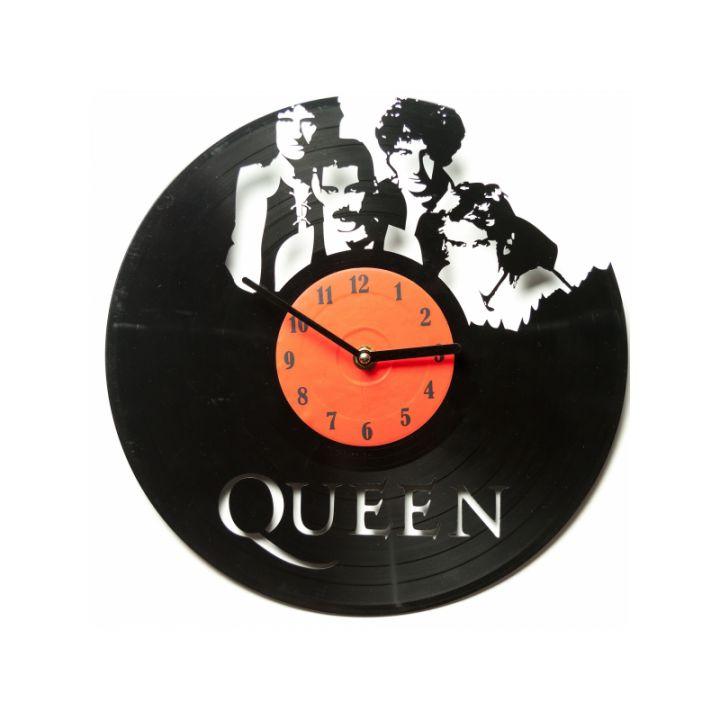Виниловые часы на стену Queen