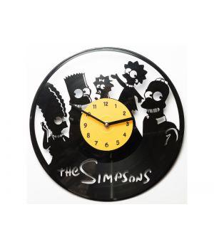 "Виниловые часы ""The Simpsons"""