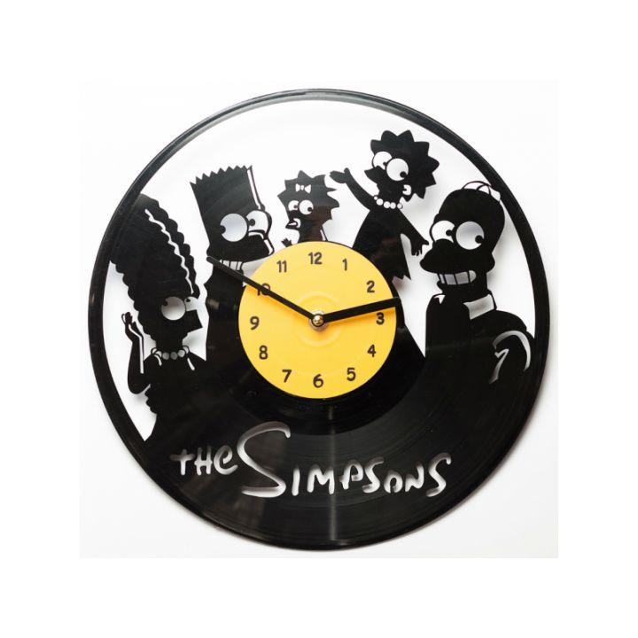 Часы из винила The Simpsons