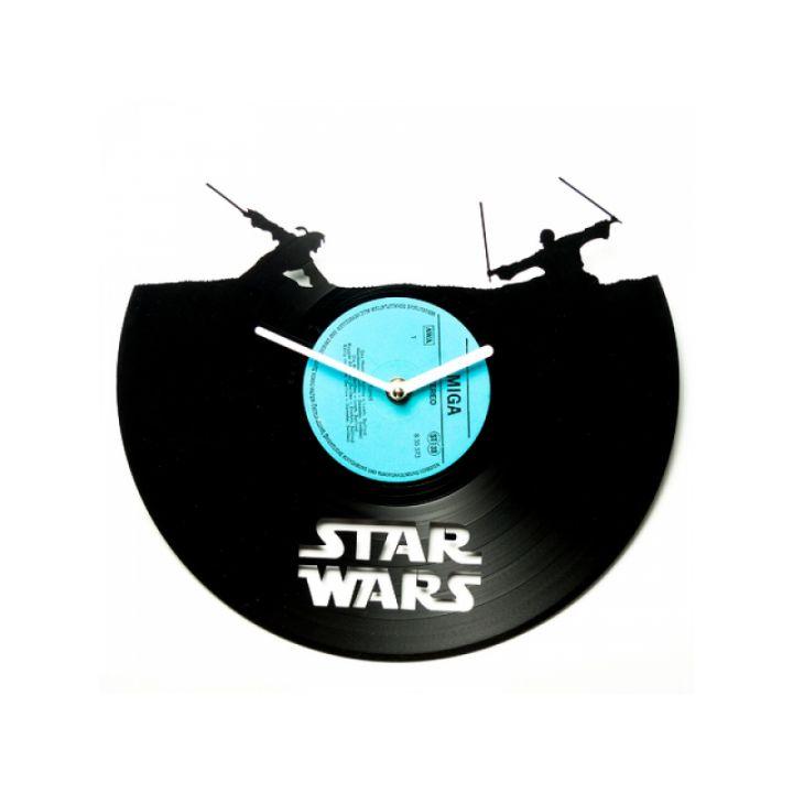 Часы из винила Star Wars №5