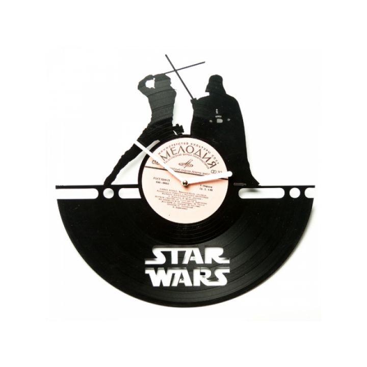 Часы из винила Star Wars №4