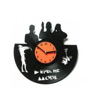 "Виниловые часы ""Depeche Mode"""