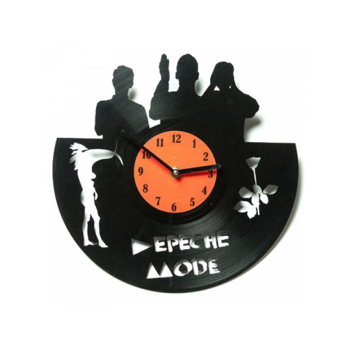 Виниловые часы на стену Depeche Mode