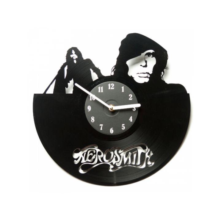 Виниловые часы на стену Aerosmith