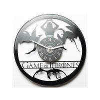 "Виниловые часы ""Game of Thrones"""