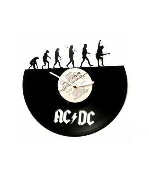 """Виниловые часы """"AC/DC evolution"""""""