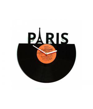 """Виниловые часы """"Париж"""""""