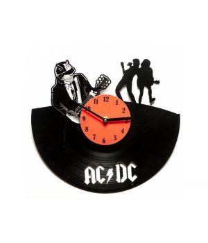 """Виниловые часы """"AC/DC"""""""