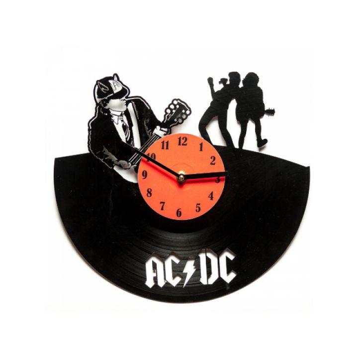Виниловые часы на стену AC/DC