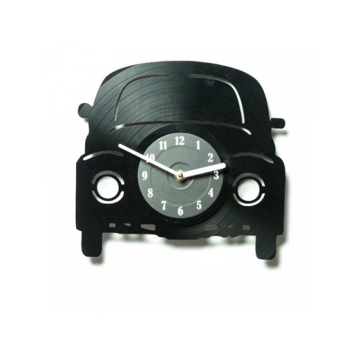 Часы из винила Машинка