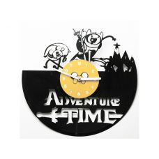 "Виниловые часы ""Adventure time"""