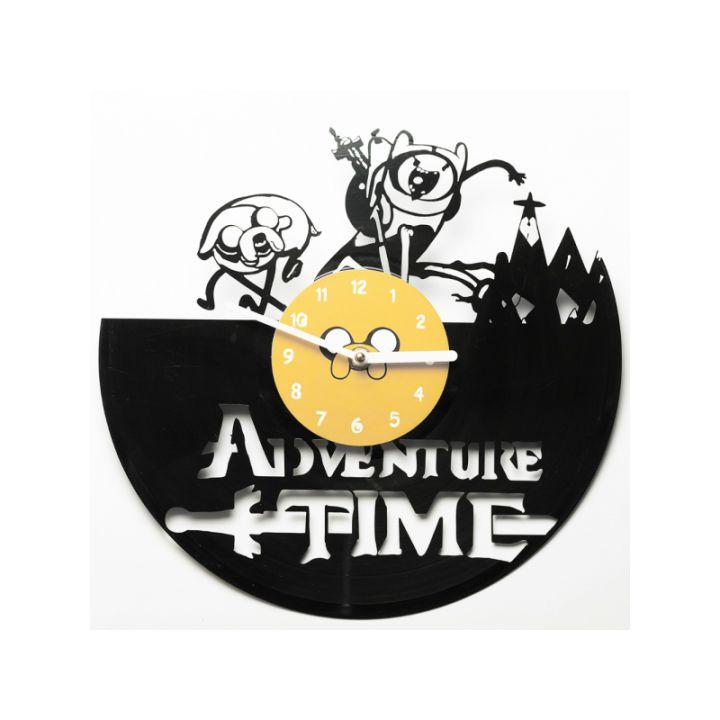 Виниловые часы на стену Adventure time
