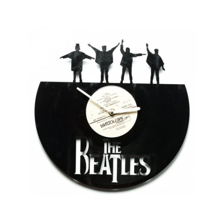 Часы из винила The Beatles