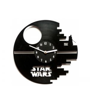 "Виниловые часы ""Star Wars: Death Star"""