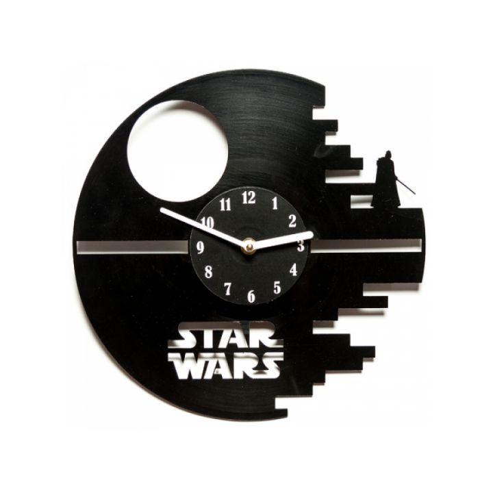 Часы из винила Star Wars: Death Star