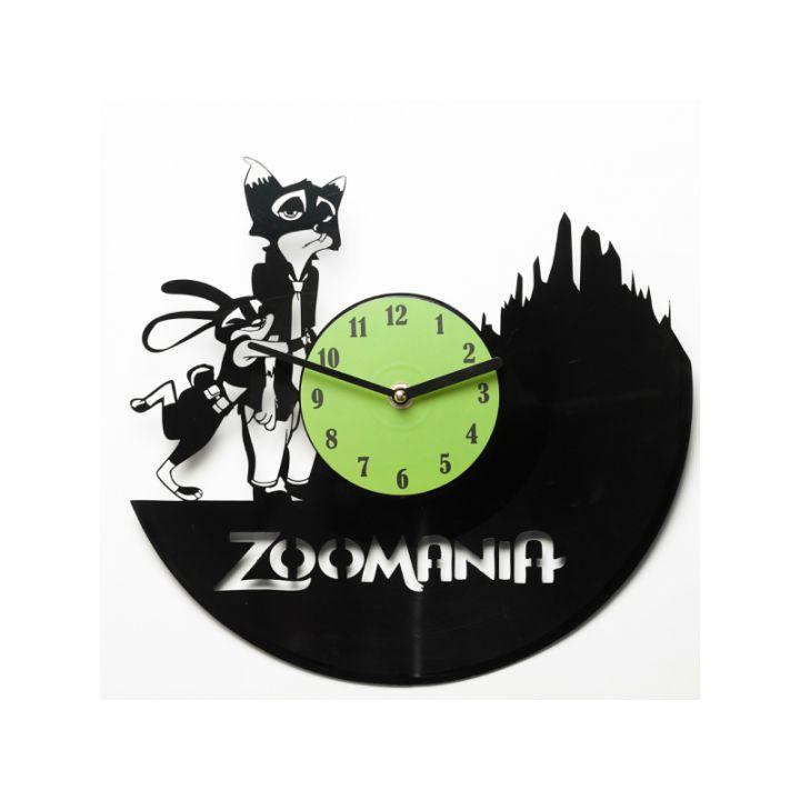 Виниловые часы на стену Zoomania
