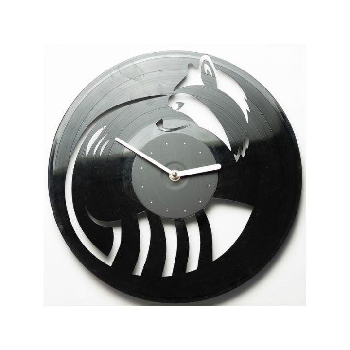 Виниловые часы на стену Енот