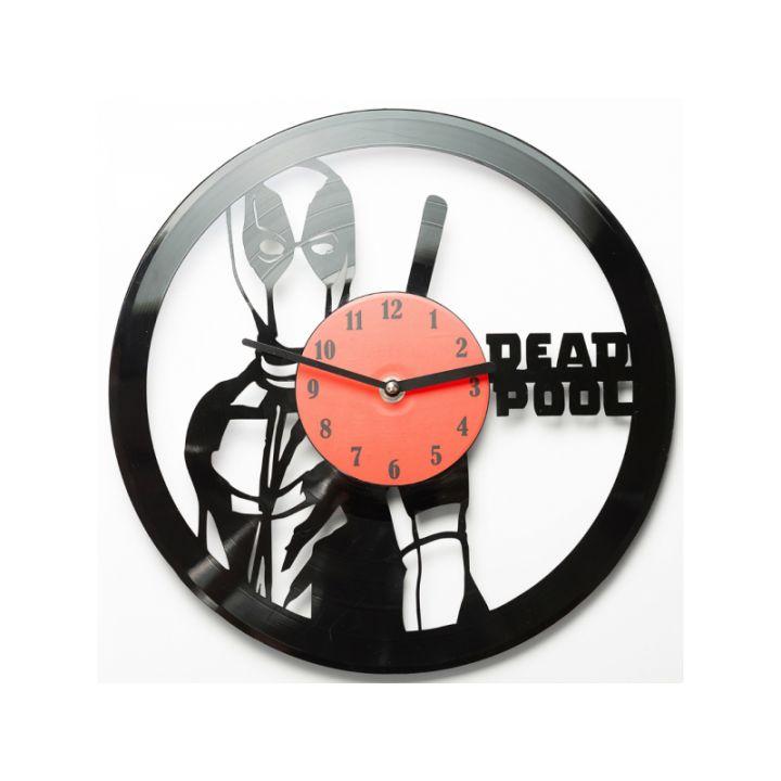 Виниловые часы на стену Deadpool