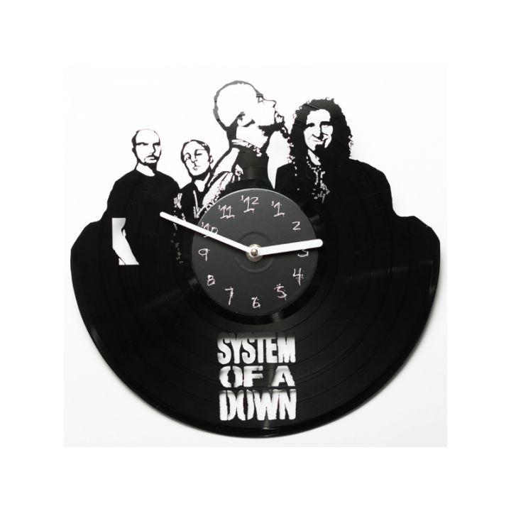 Часы из винила System of a down