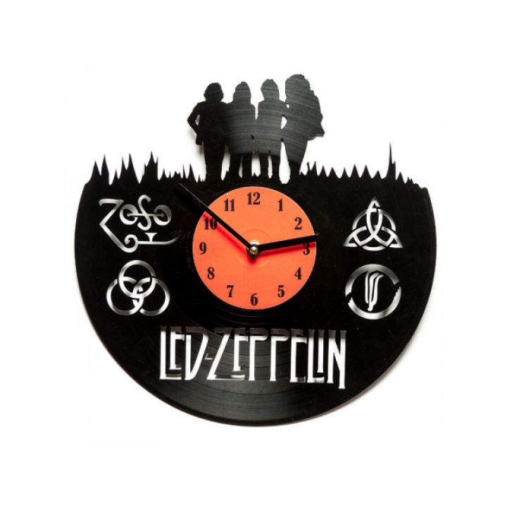 Часы из винила Led Zeppelin