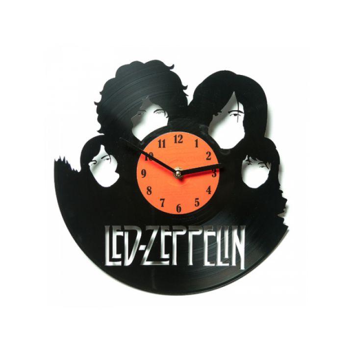 Часы из винила Led Zeppelin ver.2