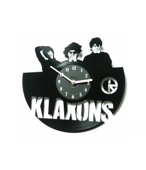 """Виниловые часы """"Klaxons"""""""