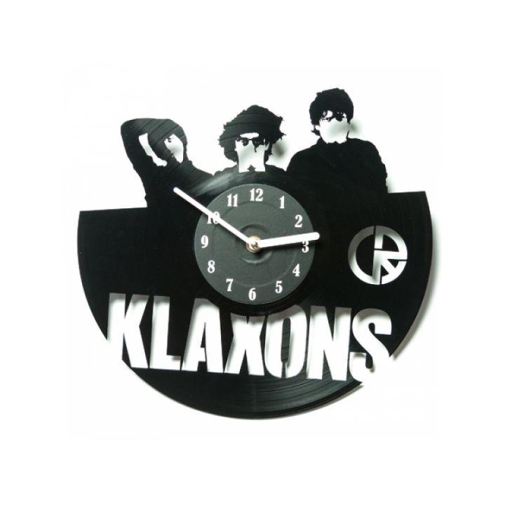 Часы из винила Klaxons