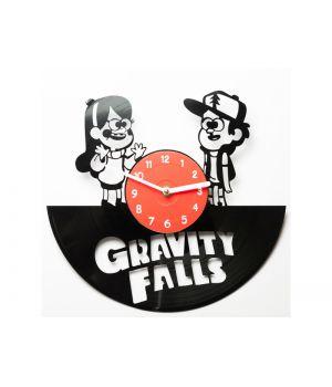 """Виниловые часы """"Gravity Falls"""""""