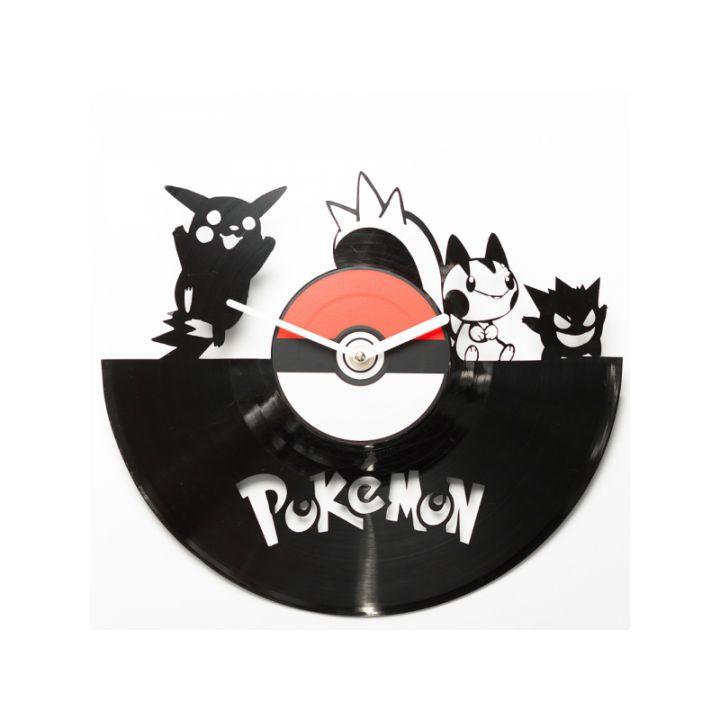 Виниловые часы на стену Pokemon