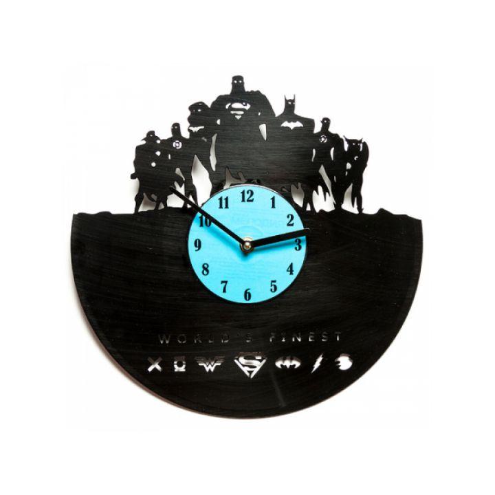 Виниловые часы на стену World`s finest