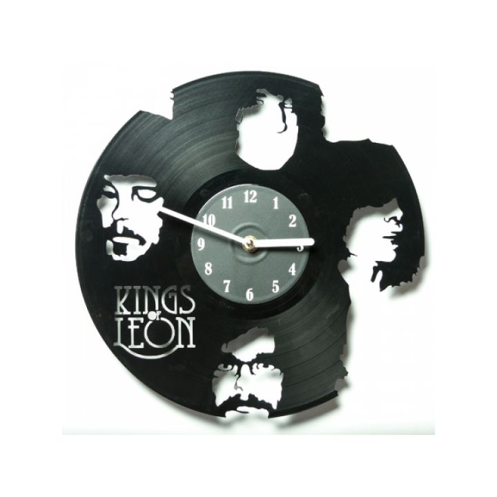 Часы из винила Kings of Leon