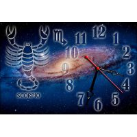 Часы настенные зодиак Скорпион