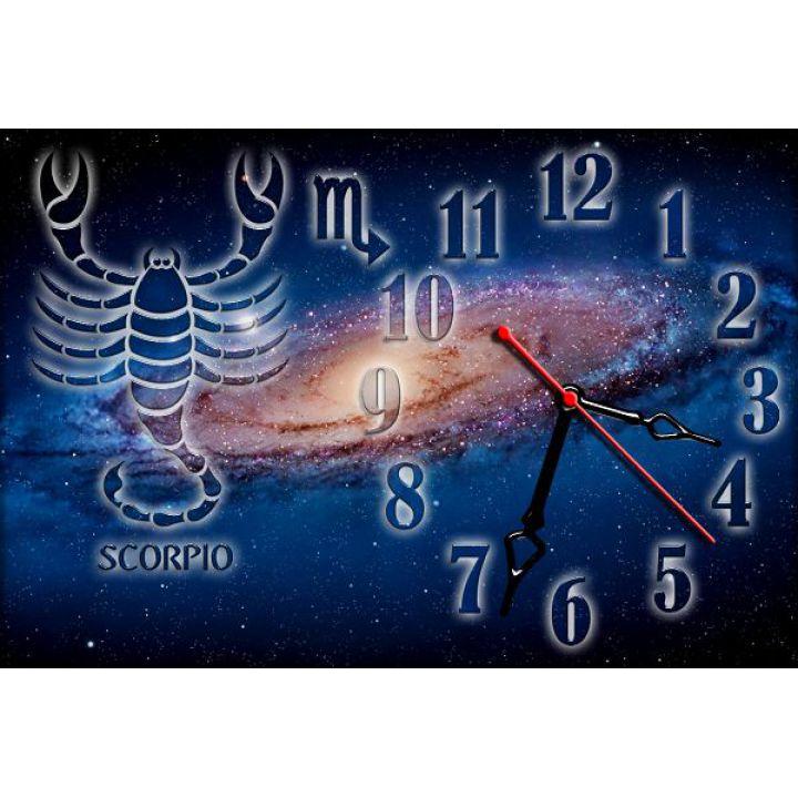 Годинник настінний зодіаку Скорпіон